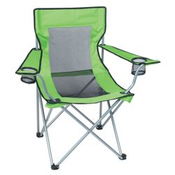Deluxe Mesh Folding Camp Chair Thumbnail