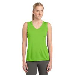 Sport-Tek® Ladies Sleeveless Competitor™ V-Neck Performance Tee Thumbnail