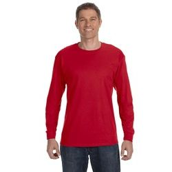 Gildan 100% Cotton Long Sleeve T-Shirt (5.3 oz.) Thumbnail