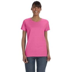 Gildan 100% Cotton Ladies T-Shirt (5.3 oz.) Thumbnail