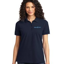 Port Authority® Ladies Core Blend Pique Polo Thumbnail